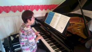 大人のピアノ生徒さん2